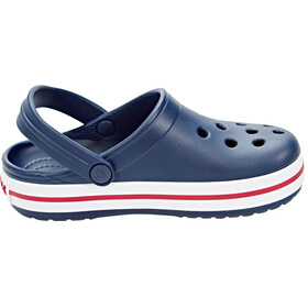 Crocs Crocband Clogs Kids Navy/Red